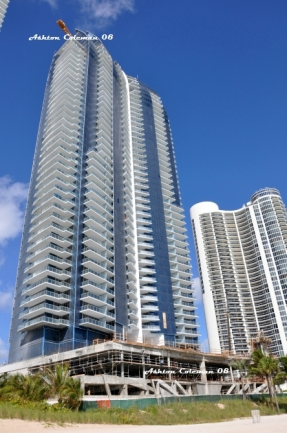 JADE Ocean Condos Development on Sunny Isles Beach