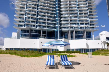 JADE Beach oceanfront umbrellas