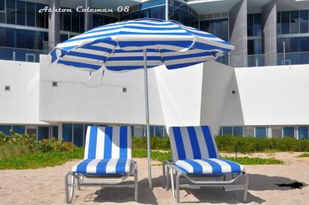 JADE Beach Condos oceanfront Lounge Chairs